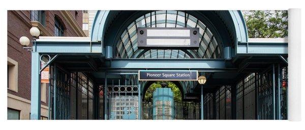 Pioneer Square Station Seattle Washington R1497 Yoga Mat