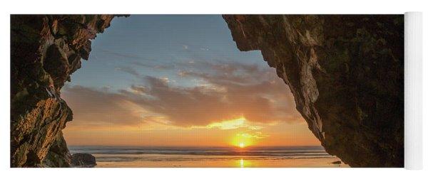 Pismo Caves Sunset Yoga Mat