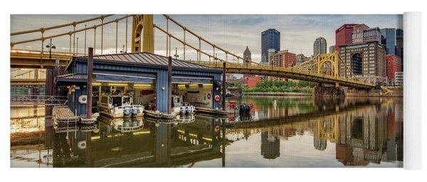 Pittsburgh River Rescue  Yoga Mat