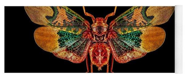 Planthopper Lanternfly Yoga Mat