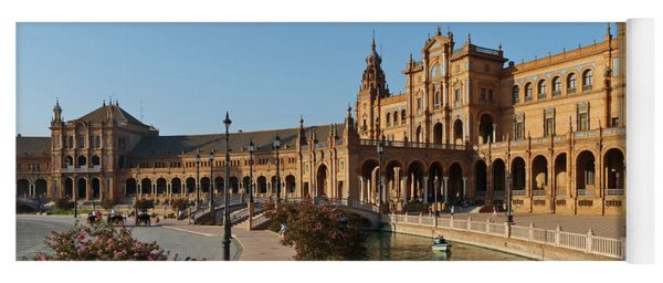 Plaza De Espana Bridge View Yoga Mat