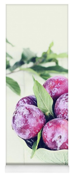 Plums Yoga Mat
