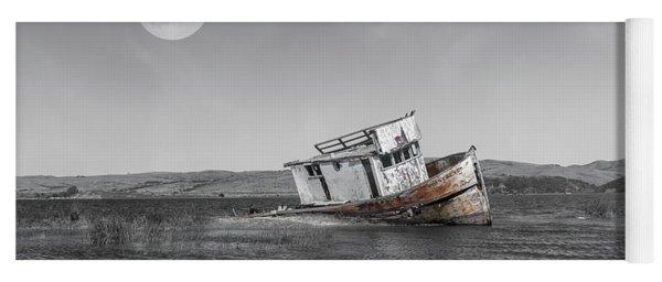 Point Reyes California Shipwreck Yoga Mat