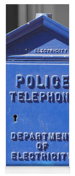 Police Box Yoga Mat