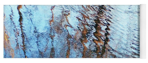 Pond Abstract Plus Duck Yoga Mat