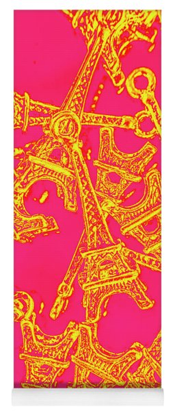 Pop Art Paris Yoga Mat