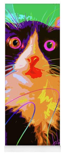 Pop Cat Tux Yoga Mat
