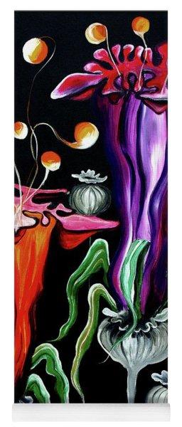 Poppies Fantasy.. Yoga Mat