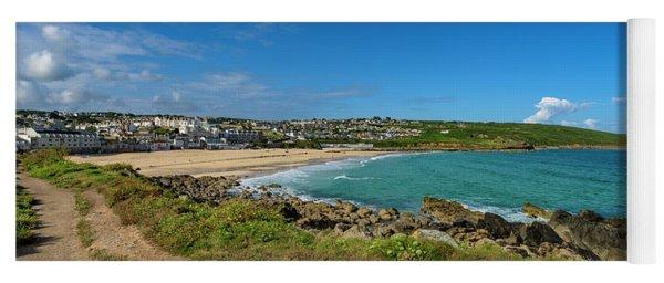 Porthmeor Beach - St Ives Cornwall Yoga Mat