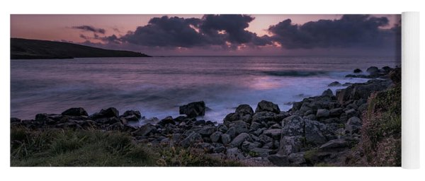 Porthmeor Sunset - Cornwall Yoga Mat