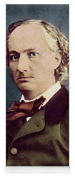 Portrait Of Charles Baudelaire By Felix Nadar Yoga Mat