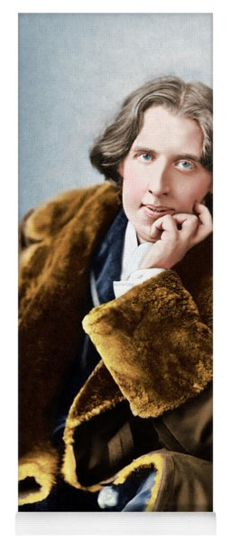 Portrait Of Oscar Wilde, 1882 Photo Yoga Mat