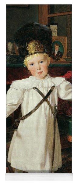Portrait Of The Future Austrian Emperor, Franz Josef Yoga Mat