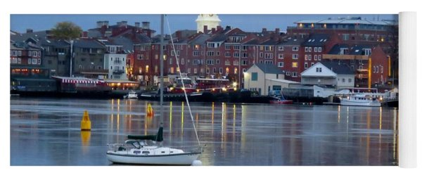 Portsmouth Across The Piscataqua River Yoga Mat