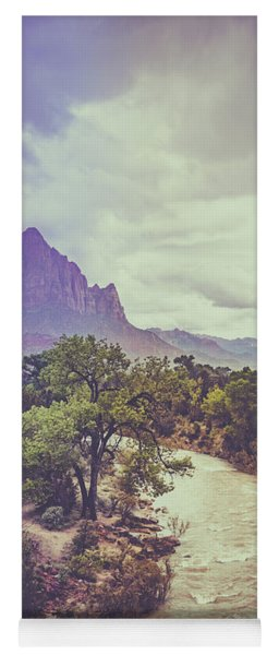 Postcard Image Yoga Mat