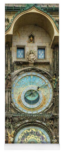 Prague Clock Yoga Mat