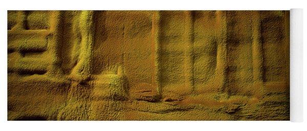 Prehistoric Scene Yoga Mat