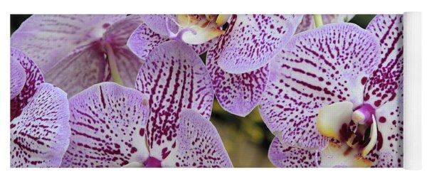 Pretty Purple Petals  Yoga Mat