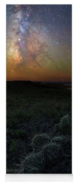 Yoga Mat featuring the photograph Pricked  by Aaron J Groen