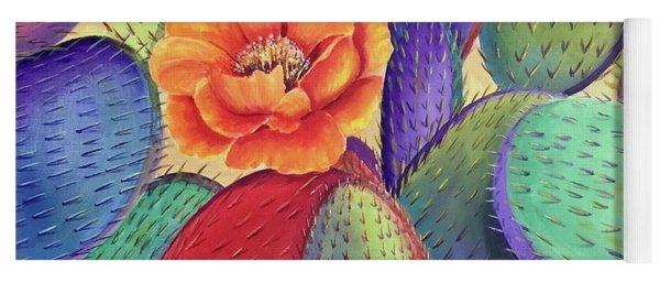 Prickly Rose Garden Yoga Mat