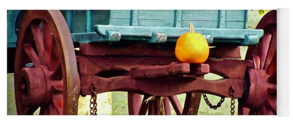 Yoga Mat featuring the photograph Pumpkin Trail Mix by Don Moore