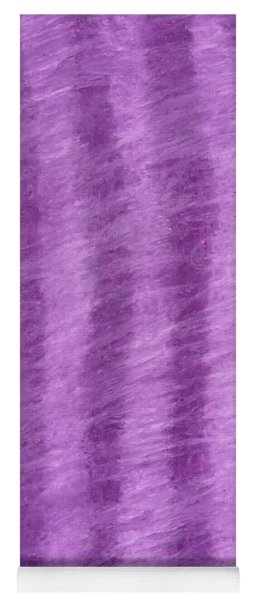 Purple Hazy Nights Yoga Mat