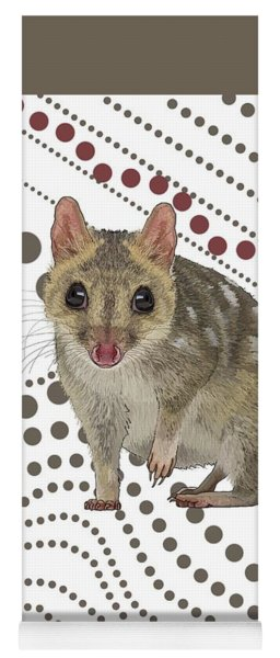 Q Is For Quoll Yoga Mat