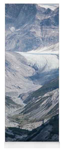 Queen Inlet Glacier Yoga Mat