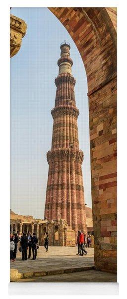 Qutub Minar 01 Yoga Mat