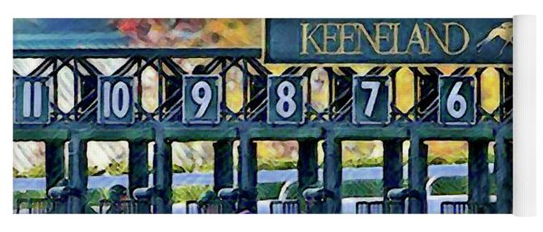 Fall Racing At Keeneland  Yoga Mat
