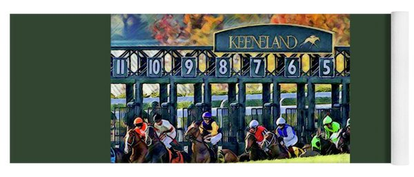 Fall Racing At Keeneland  Yoga Mat