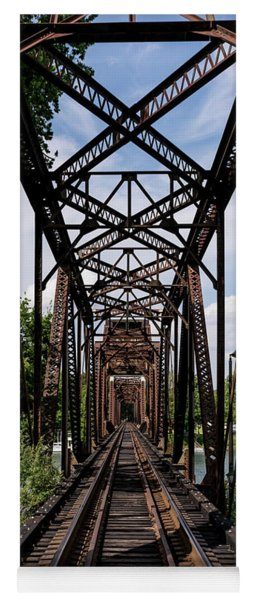 Railroad Bridge 6th Street Augusta Ga 1 Yoga Mat