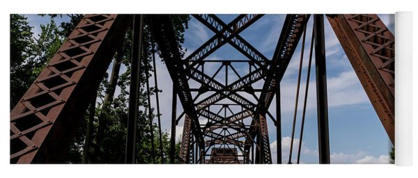 Railroad Bridge 6th Street Augusta Ga 2 Yoga Mat