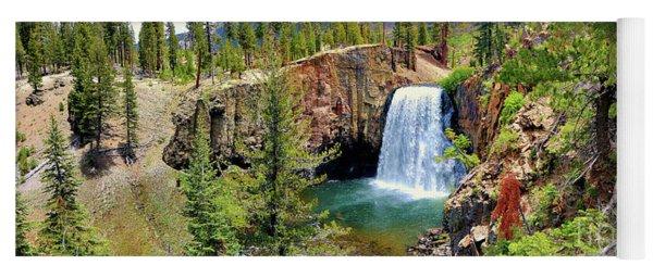 Rainbow Falls Panoramic Yoga Mat