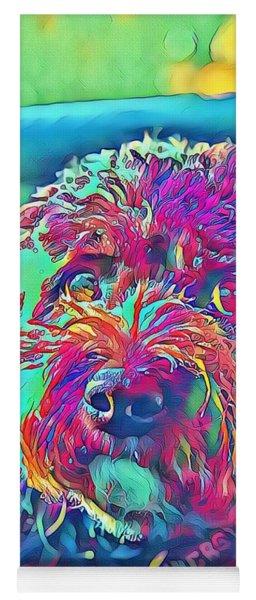 Rainbow Pup Yoga Mat