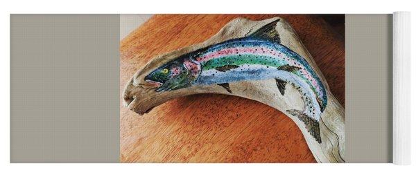 Rainbow Trout #1 Yoga Mat