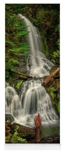 Rainier Falls Creek Falls Yoga Mat