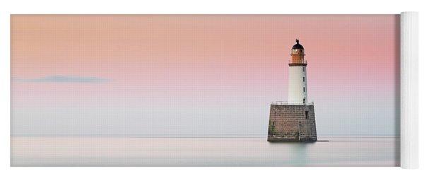 Rattray Lighthouse Sunset- Scotland Yoga Mat