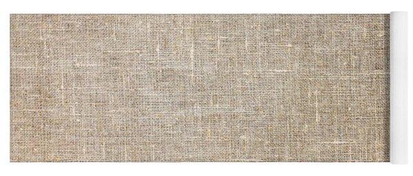 Raw Natural Linen Yoga Mat