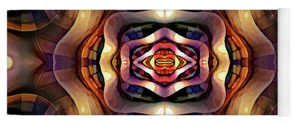Yoga Mat featuring the digital art Rebekah by Missy Gainer