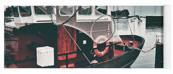 Red Boat Retro Yoga Mat