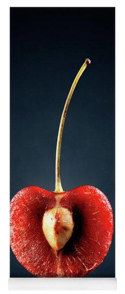Red Cherry Still Life Yoga Mat