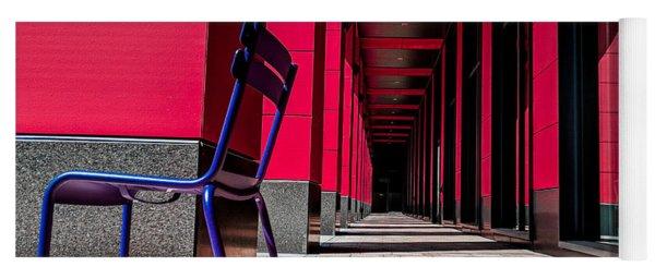 Red Corridor Yoga Mat