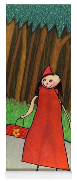 Red Ridinghood Yoga Mat