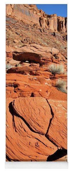 Red Rock Beauty Near Moab Utah Yoga Mat