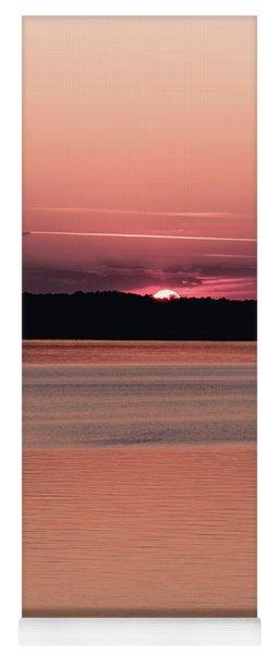 Red Sunset 2 Yoga Mat