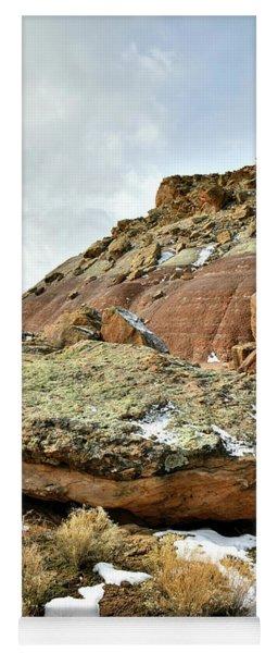 Redland Mesa Near Colorado National Monument Yoga Mat