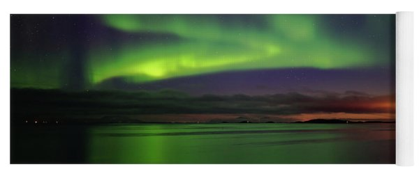 Reflected Aurora Yoga Mat