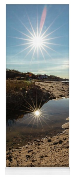 Reflections Of Autumn At The Beach Yoga Mat