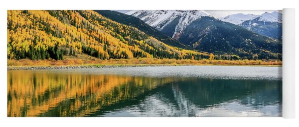 Reflections On Crystal Lake 1 Yoga Mat